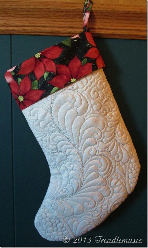 Leah's Christmas stocking 001